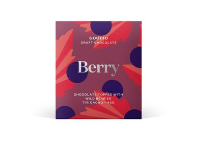 Chocolate - Berry - Dark chocolate - GOODIO
