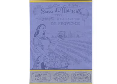 Torchons textile - Savon de Marseille / Torchon Jacquard - AUTREFOIS DÉCORATION