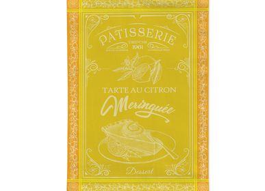 Torchons textile - Tarte Citron / Torchon Jacquard - AUTREFOIS DÉCORATION
