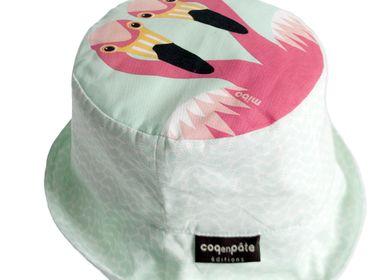 Chapeaux - Bob enfant Flamant rose - COQ EN PATE
