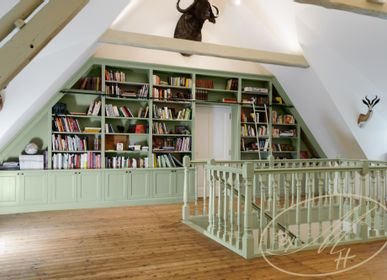 Bookshelves - Library - our gallery - BY MH - MARTIN HAUSNER, GASTRO INTERIEUR