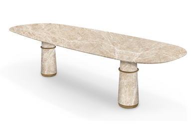 Dining Tables - AGRA II DIining Table - CAFFE LATTE
