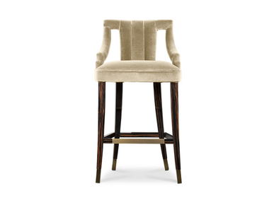 Chairs for hospitalities & contracts - CAYO Bar Chair - CAFFE LATTE