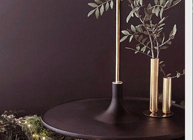 Vases - Stem vase SOLIFLORE - brass - MADEMOISELLE JO