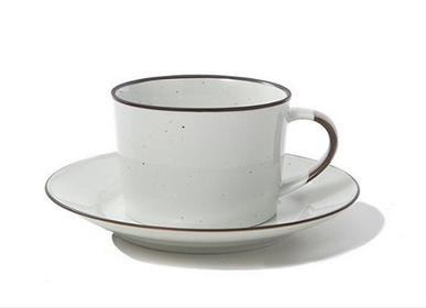 Tasses et mugs - Tasse à café avec soucoupe - MANSES DESIGN