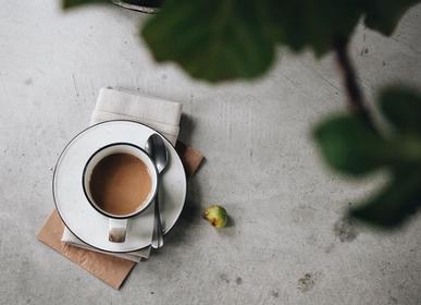 Tasses et mugs - Mug avec soucoupe - MANSES DESIGN