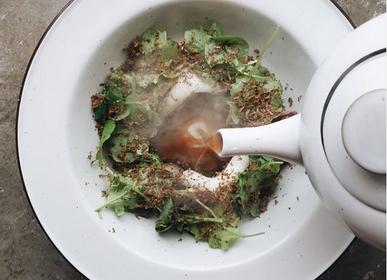 Plats et saladiers - Pichet en porcelaine - MANSES DESIGN
