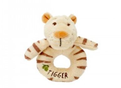 Gifts - Plush Rattle Ring Tigger and Friends The Forest of Blue Dreams - PETIT POUCE FACTORY