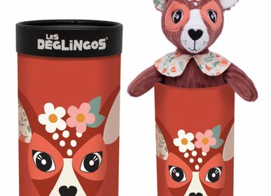 Soft toy - BIG SIMPLY DEGLINGOS PLUSH MELIMELOS THE DEER - LES DEGLINGOS