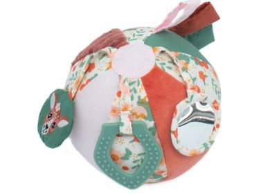 Soft toy - ACTIVITY BALL MELIMELOS LA BICHE - LES DEGLINGOS