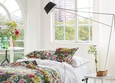 Linge de lit - Grandiflora Rose Dusk - Courtepointe et housse de coussin / Quilt and cushion case - DESIGNERS GUILD
