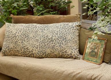 Fabric cushions - SAFARI Cushion 50x100 cm - INDIAN SONG