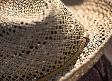 Hats - OPENWORK STRAW HAT COSTA - TRAVAUX EN COURS...