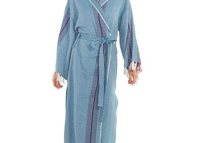 Apparel - GOCEK BATHROBE BEACH JACKET BEACH DRESS COTTON COLORFUL - LALAY
