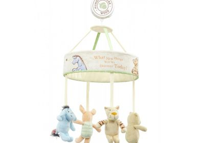 Gifts - Musical mobile Winnie & cie The Forest of Blue Dreams - PETIT POUCE FACTORY