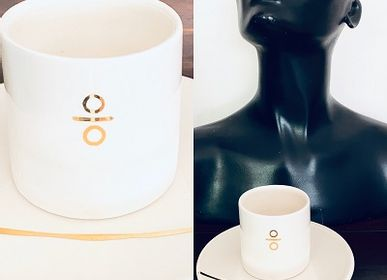 Mugs - ALPHA'BER CUP GOLD - YADI