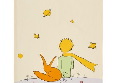 Tea towel - Le Petit Prince - Le Petit Prince et le Renard de Dos / Tea towel - COUCKE