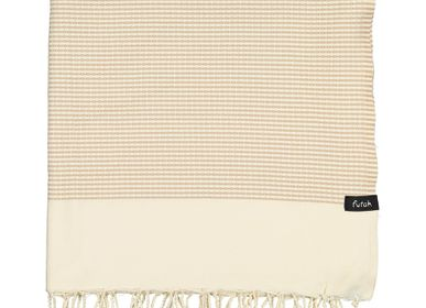 Homewear - Serviette Nazaré Mocha XL - FUTAH BEACH TOWELS