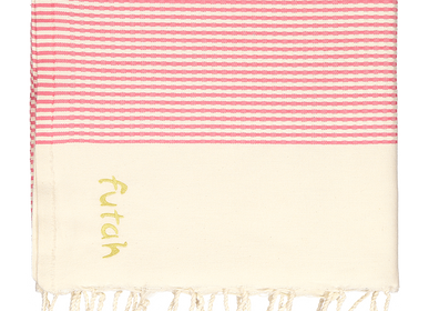 Homewear - Nazaré Pink XL Towel - FUTAH BEACH TOWELS