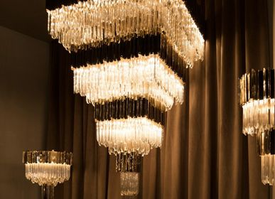 Office design and planning - Empire Square Chandelier  - COVET HOUSE