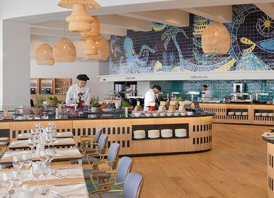 Hanging lights - Lazaro - Central Market hotel H10 Atlantic Sunset - OMIO ATELIER ET DESIGN