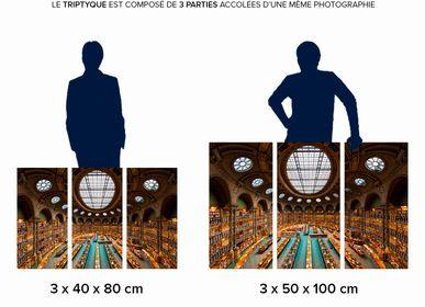 Photos d'art - Tirages d'art en triptyque sur support rigide  - PIXOPOLITAN