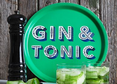 Trays - Gin & Tonic - Word collection - Trays - Coaster - JAMIDA OF SWEDEN