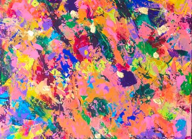 Paintings - Painting Freedom to Bloom - JONAQUESTART