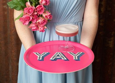 Trays - YAY- Word collection - Trays - Coasters - JAMIDA OF SWEDEN