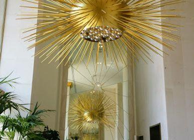 Ceiling lights - Sea Urchin - Iberostar Paseo de Gracia Barcelona - OMIO ATELIER ET DESIGN