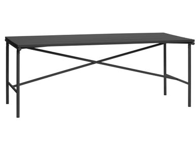 Lawn tables - Table, metal, black - HÜBSCH