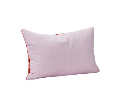 Comforters and pillows - Cushion w/filler, corduroy, purple/red - HÜBSCH