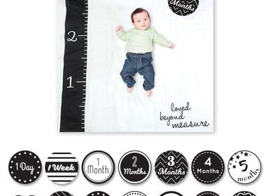 """Kids accessories - Box """"My first year"""" Lange & photo cards - LULUJO"""
