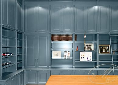 Bookshelves - Library - study room - BY MH - MARTIN HAUSNER, GASTRO INTERIEUR