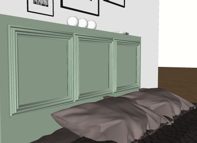 Beds - PELE-MELE headboard - SESAME OUVRE-TOI