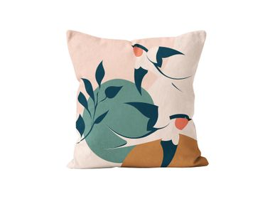Fabric cushions - Muses Bird Cushi - ATOMIC SODA