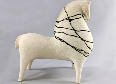 Sculptures, statuettes and miniatures - Sculpture Horse drawing  - ATHENA JAHANTIGH