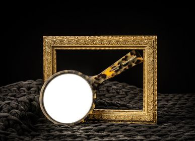 "Beauty products - ""Luxury"" Mirror Green Havana - KOH-I-NOOR ITALY BEAUTY"