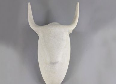 Sculptures, statuettes and miniatures - Wall Taurus Sculpture - Head  - ATHENA JAHANTIGH