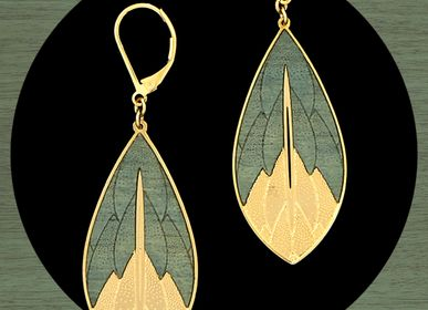 "Jewelry - ""Physalis"" : necklaces and earrings - AMELIE BLAISE"