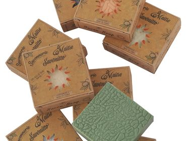 "Soaps - vegetable soap ""sun cases"" with noble oils - MAITRE SAVONITTO FABRICANT"