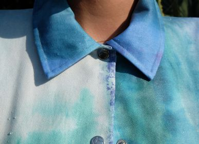 Apparel - Petalstream Unisex Aqua tye-dye - PETALSTREAM