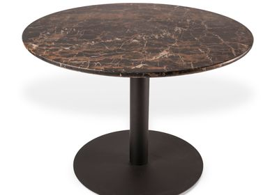 Tables Salle à Manger - Dining Table Slab Round - POLS POTTEN