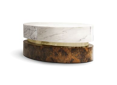 Dining Tables - INFINITY Center Table  - MEMOIR ESSENCE INTERIORS