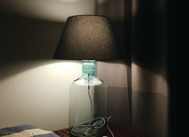 Decorative objects - Upcycling Vintage Bottle Lamp - OH INTERIOR DESIGN