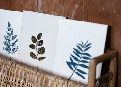 Stationery - Stationery - wooden card - POUSSIÈRE DES RUES
