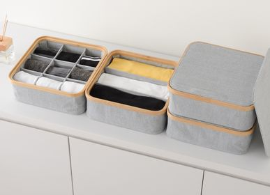 Storage boxes - KIM Storage box with lid - GUDEE