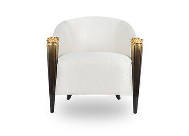 Armchairs - BLOSSOM Armchair - MEMOIR ESSENCE INTERIORS
