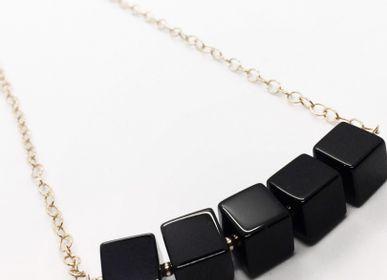 Bijoux - Collier n°5 Black Geometry - ATELIER PASTRANA