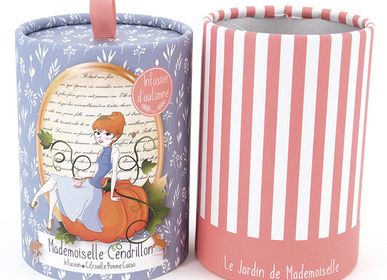Coffee and tea - Infusion Mademoiselle Cinderella - Pumpkin, Apple, Cocoa - LE JARDIN DE MADEMOISELLE